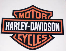 Harley Davidson Bar Shield Full Color Window Or Wall 8 X 10 Decal Sticker