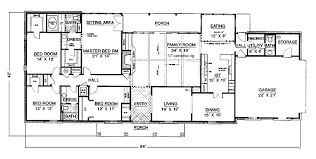 one story bedroom house plans