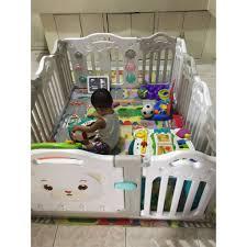Baby Kids Playpen Fence Graylock Thicker Cod Shopee Philippines