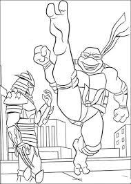 De Shredder En Ninja Turtle Kleurplaat Gratis Kleurplaten Printen
