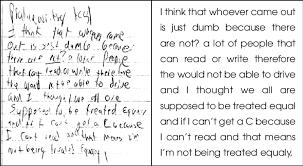 exle of student essay writing