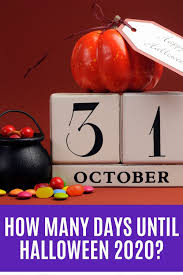 How many days until Halloween 2020? in 2020   Days until halloween, Days  till halloween, Halloween 2020