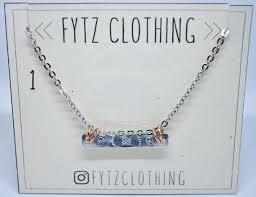 bohemian stamp jewelry bar pendants
