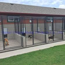 China 2 Run And 3 Run Indoor Outdoor Dog Boarding Kennels With Fight Guards China Dog Boarding Kennel And Steel Dog Boarding Kennel Price