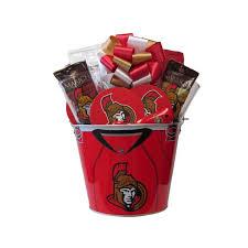 ottawa senators hockey mania gift basket