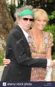 Keith Richards and Patti Hansen The wedding of Leah Wood and Jack ...