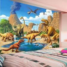 3d Dinosaur Wall Sticker Allosaurus Jurassic World Decal Boys Room Vinyl Mural