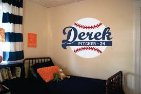 Personalized Baseball Wall Decal Nursery Name Decal Baseball Etsy Baby Boy Room Nursery Baseball Wall Decal Nursery Room Boy