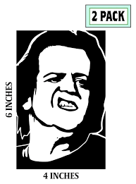 2 Pack Glenn Danzig Misfits Stickers Vinyl Decal Horror