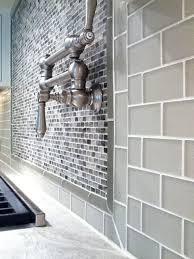 smoke glass subway tile glass tile