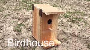 How To Build A Birdhouse With One Board Youtube