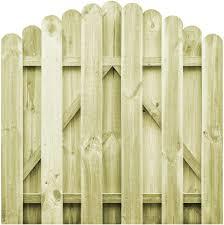 Tidyard Fsc Impregnated Pine Garden Gate Arch Design Wooden Fence Gate 100 X 75 Cm 100x100 Cm Amazon Co Uk Kitchen Home