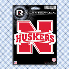 Nebraska Huskers Car Window Decals Stickers