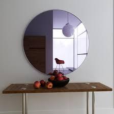purple wall mirror large hanging art
