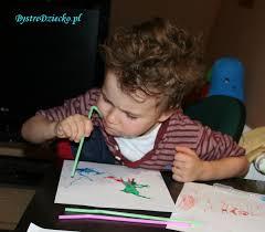 Rozdmuchane farby, czyli alternatywne malowanie i ćwiczenia logopedyczne -  Bystre Dziecko