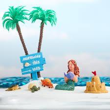 miniature beach fairy garden kit