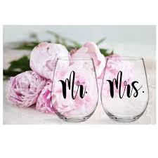 Mr And Mrs Vinyl Decals Sticker Yeti Decal Wine Glass Decal Stickers Cup Wedding Gift Custom Vinyl Art Stickers T180873 Wall Stickers Aliexpress