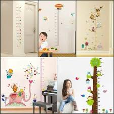 Measure Wall Stickers For Kids Room Height Chart
