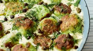 Fish Keftedes in Mustard and Dill