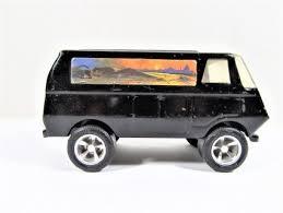 Vintage Tonka Toy Custom Van Black Metal Tonka Toys Tonka Custom Vans