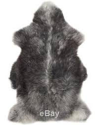 genuine large herdwick sheepskin rug