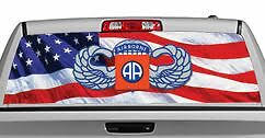 Truck Rear Window Decal Graphic Military 82nd Airborne 20x65in Dc05106 Ebay