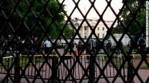 White House Fortifies Security Perimeter Ahead Of Continued Protests Cnnpolitics