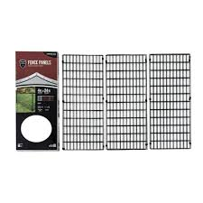 Yardgard Select Infill Panels 24 Ft Total Length 12 2 Ft Panels With Rail Clips And Panel Clips 328803a The Home Depot