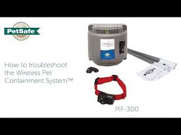 Troubleshoot The Petsafe Wireless Pet Containment System Youtube