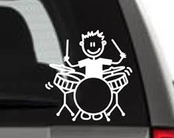 Drum Decal Etsy
