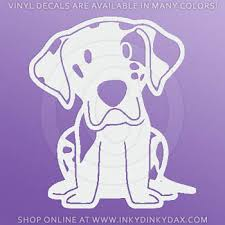 Kawaii Harlequin Great Dane Decal Sew Dog Crazy