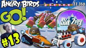 NEW Angry Birds GO! SUB-ZERO Pt. 13 Slushy Slider L1 In-App ...