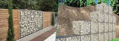 Metal Gabion Baskets Characteristics And Uses Cavatorta Uk