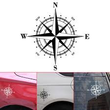 1pc Car 15 15cm Nswe Compass Stickers Car Window Bumper Vinyl Decal Buy At A Low Prices On Joom E Commerce Platform