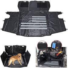 bench seat cover dog hammock storage