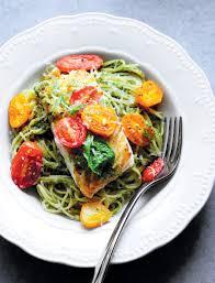 Pistachio Pesto and Roasted Tomatoes ...