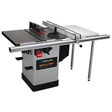 Delta 36 717b Left Tilt Hybrid Saw 1 3 4 Horsepower Motor With 30 Inch Biesemeyer Fence And Tableboard Power Table Saws Amazon Com