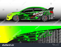 Car Decal Vector Graphic Abstract Racing Designs For Vehicle Sticker Vinyl Wrap Car Car Decals Vinyl Wrap