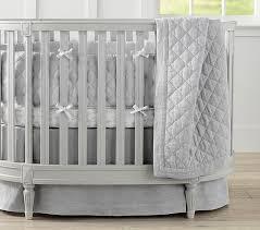 belgian flax linen oval baby bedding