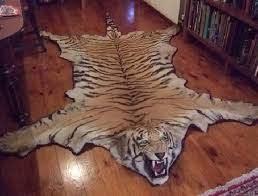 faux animal skin rug animal skin rug