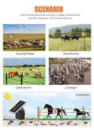 Solar Electric Fence Energizer China Electric Fence Energizer Electric Fence Controller Made In China Com