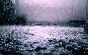 singin in the rain stock photos