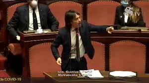 Coronavirus, Gianluca Perilli (M5S) - Intervento Aula Senato - 26 ...