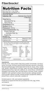 isagenix fibersnacks gluten free