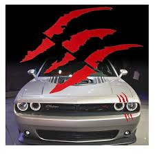 Red Monster Claws Scratch Headlight Deca Buy Online In China At Desertcart