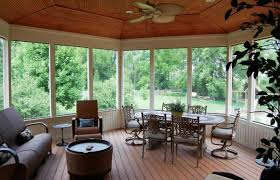 screened porch flooring best and