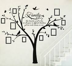 add this family photo and quote tree wall decal sticker to your home