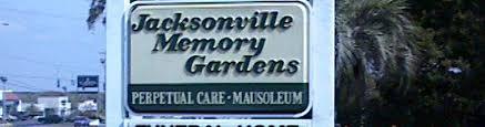 jacksonville memory gardens funeral