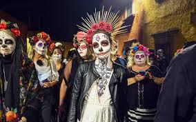 Dia de los Muertos Photos: San Miguel de Allende's Catrina Parade Will  Convince You to Book a Trip to Mexico | Travel + Leisure