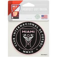 Inter Miami Cf Car Decals Inter Miami Cf Auto Truck Decals Mlsstore Com